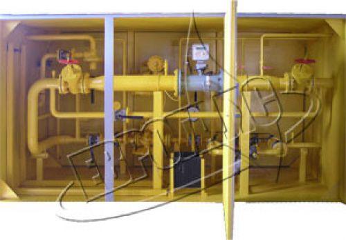 Газорегуляторный пункт шкафной с газовым обогревом ГСГО-НС (НН, НВ, СС, СВ, ВВ)