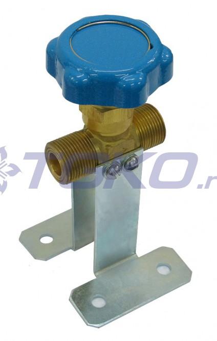 клапан запорный к-1409-250
